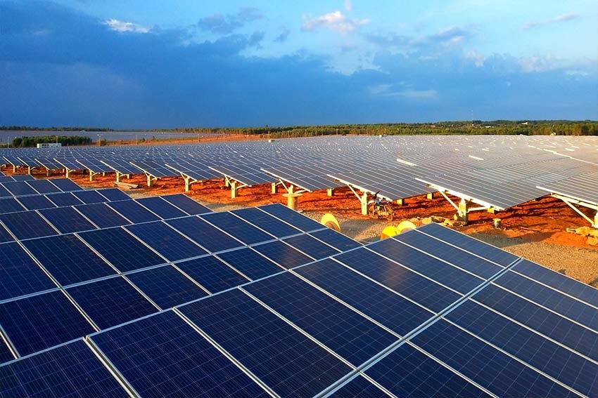Latest company case about Solar Power Generation Project 81.24MW located in Pakistan