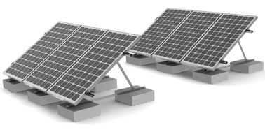 Rooftop Solar Panel Roof Mounting Systems Concrete Ballast Commercial Residential