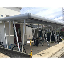 China Commercial Carport Solar Systems Arrays Support EPC Aluminium Steel Q345B Al6005 factory