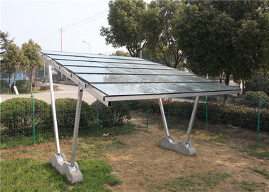 China HDG Solar Energy Ground Mounting System of Carport Products off Grid Solar Panel System factory