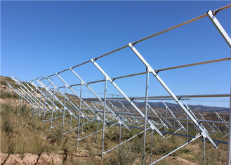 China Q345B Galvanized Steel Channel For Solar Energy Mounting System Wind Resistance factory