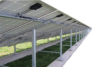 Solar Panel Galvanised Steel Profiles , C U Hot Rolled Structural Steel Beams
