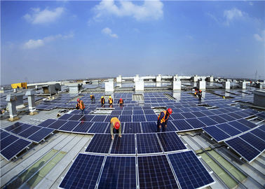 Commercial Solar Panel Roof Mounting Systems Aluminum Tile Ballasted Easy Installation