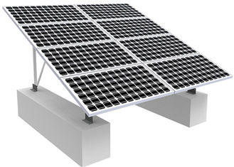 China Solar Photovoltaic RV Solar Mounting Systems , 0-60 Degree Solar Panel Roof Mounting Kits factory