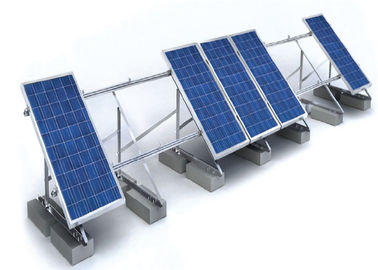 China 1.4KN/M2 Solar Panel Roof Mounting Systems Customized Color Aluminum Stainless Steel Structure factory