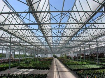 Roof Greenhouse Solar System Photovoltaic Structure Q235 Q345 1.4KN/M2 Max Snow Load