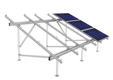 PV Solar Panel Frame Mounting Kit , Triangular Bracket Solar Roof Systems