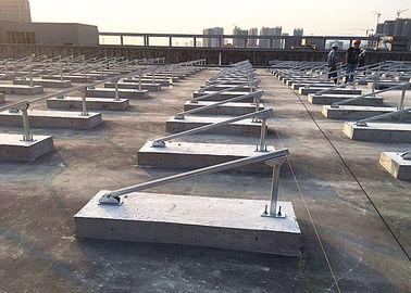 China Cement Blocks Solar Panel Roof Mounting Systems Iron Sheet Stainless Steel factory