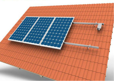 Adjustable Tile Solar Panel Roof Mounting Systems With 10 Years Warranty