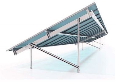 China 100KW Solar Power Mounting Systems Hot Dip Galvanized Steel Ground Plant Pile factory