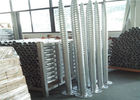 Silver Ground Screw Piles Stable HDG Q235 Steel High Class Hot Dip Galvanized