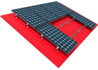 10kw Solar Panel Roof Mounting Systems Pitched Corrugated Trapezoidal Standing Seam PV Structure