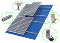 HDG Solar Panel Roof Mounting Systems Customized Color Stainless Steel 304 Home Building supplier