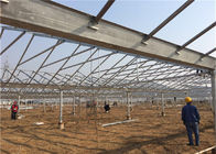 5kw Greenhouse Solar System Ground Mount 10-60° Tilt Angle Thickness 2.0mm/2.5mm supplier