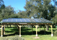 Outdoor Carport Solar Systems Waterproof Photovoltaic Panel High Stability supplier