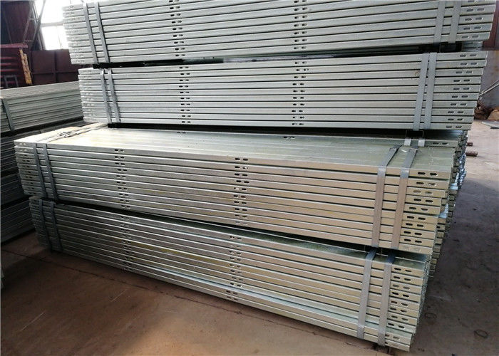 On Off Grid Galvanized Steel Profile Customized Color Wind Seismic Resistance