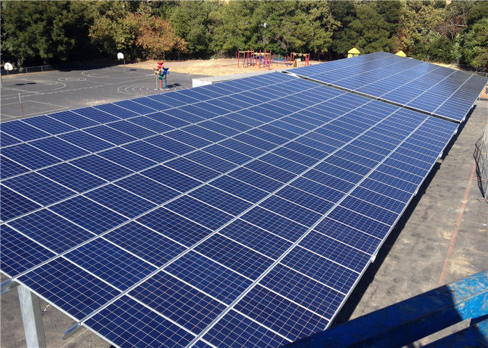 Galvanized Steel PV Carport Solar Systems 1.4KN/M2 Max Snow Load Galvanized Surface supplier