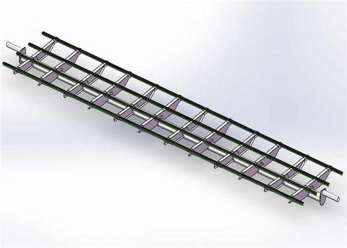 Frameless Module Solar Heating System Power Bracket 20 M Max Building Height supplier