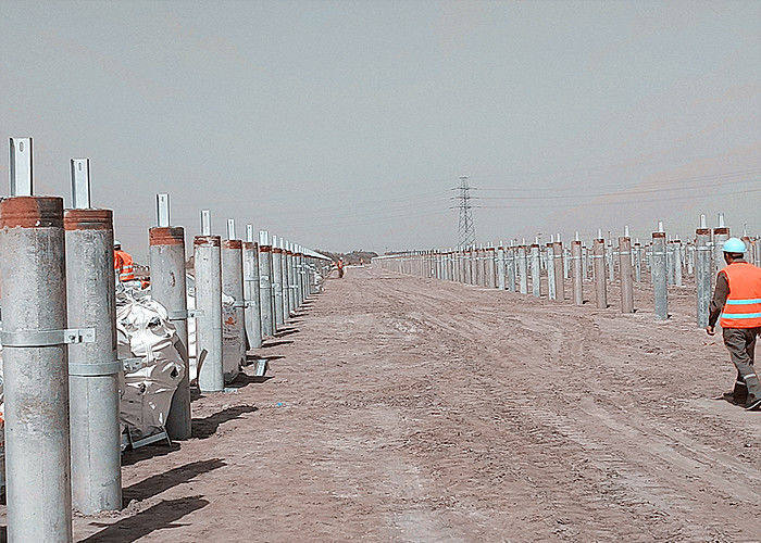 Solar Panel Galvanised Channel Sections , C U Hot Rolled Structural Steel Beams supplier
