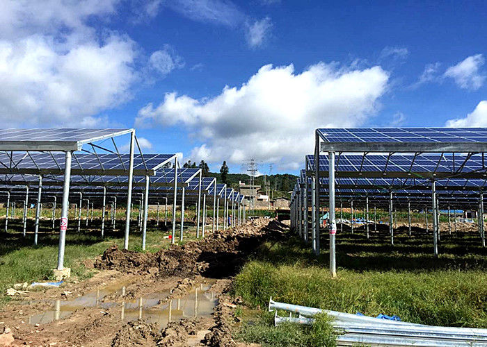 Construction Site Work Greenhouse Solar System Acid Corrosion Resistant supplier