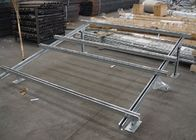 Light Weight Galvanized Steel Profile Solar Bracket System C Section