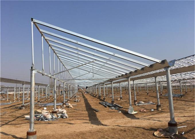 Agriculture Greenhouse Solar System Customized Color Corrosion Resistance